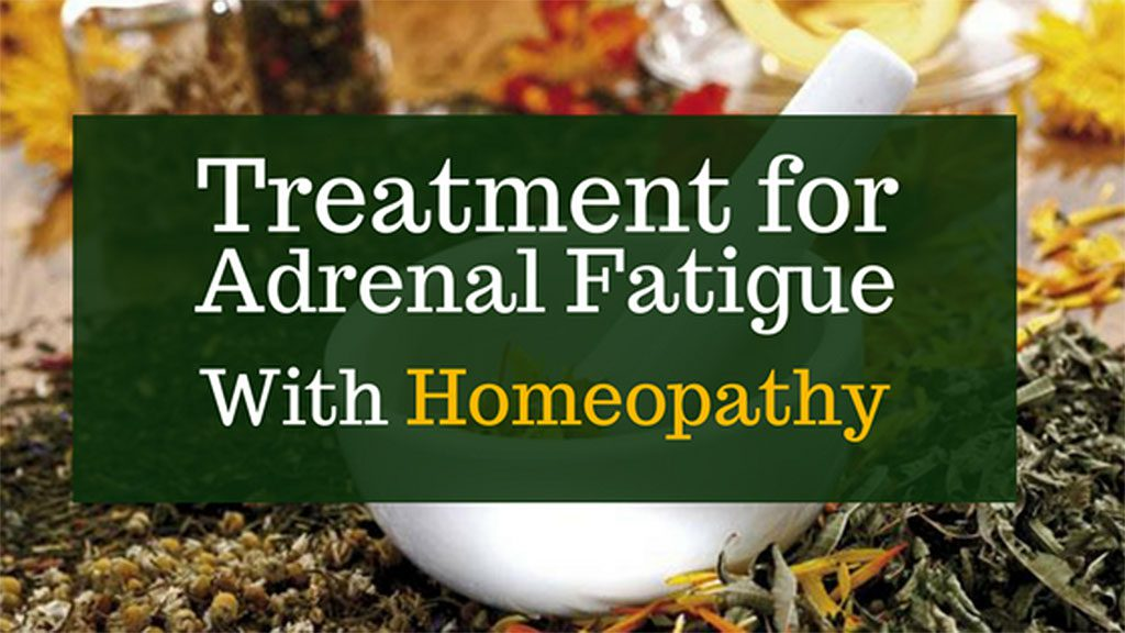 Treatment for Adrenal Fatigue